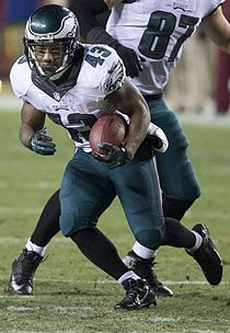 "Darren Sproles, a ""scat back"" Darren Sproles 2014.jpg"