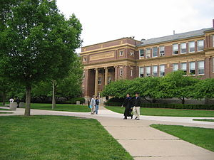 Eugene Davenport - Davenport helped secure funds for the College of Agriculture Building. It is now known as Davenport Hall.