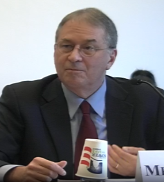 David Albright - David Albright at a house subcommittee hearing on the Iranian Nuclear Talks, 2014