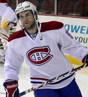 David Desharnais - Desharnais with the Montreal Canadiens in 2012