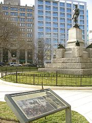 David Farragut statue at Farragut Square