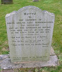 David Sillar, gravestone, irvine (2).JPG