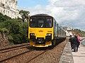 Dawlish - GWR 150002 Paignton service.JPG