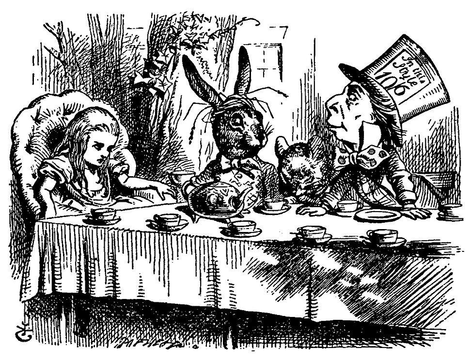 De Alice's Abenteuer im Wunderland Carroll pic 25
