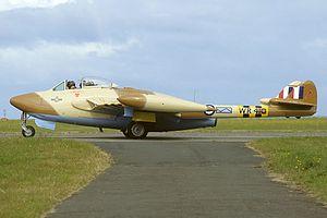 Jebel Akhdar War -  A RAF Venom jet