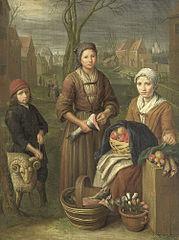 The woman peddler