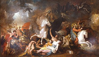 Four Horsemen of the Apocalypse - Death on the Pale Horse, Benjamin West, 1817