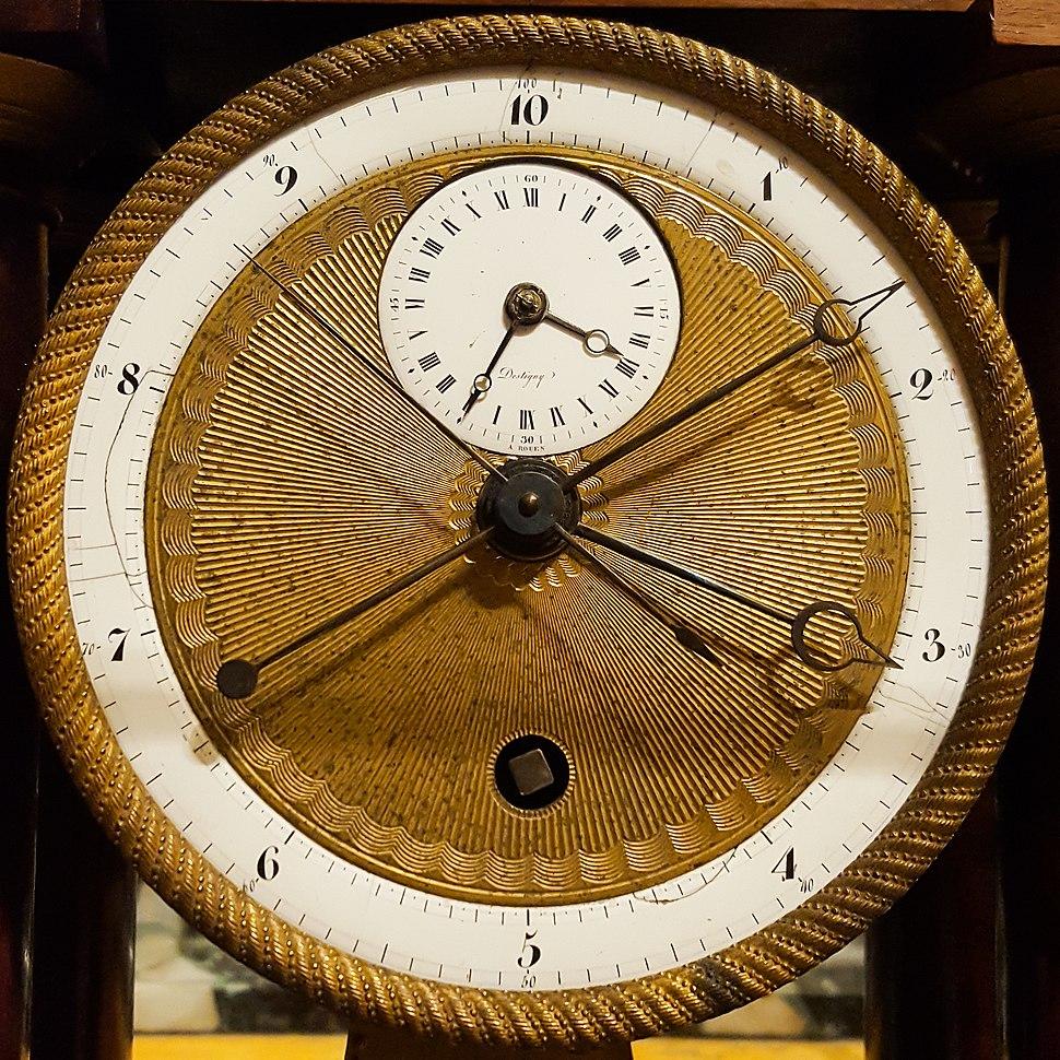 Decimal Clock face by Pierre Daniel Destigny 1798-1805