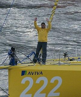 Dee Caffari British yacht racer
