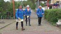 File:Deelnemers zien Leeuwenmars als start voorbereiding Vierdaagse.webm
