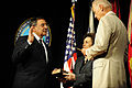 Defense.gov News Photo 110722-F-RG147-187 - Vice President of the United States Joe Biden administers the oath of office to Secretary of Defense Leon E. Panetta accompanied by his wife.jpg