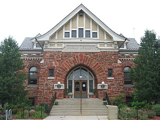 National Register of Historic Places listings in Defiance County, Ohio - Image: Defiance Public Library