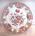 Delft plate faience Famille Rose 1760 1780.jpg