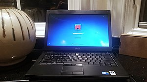 Dell Latitude - A Dell Latitude E4310 running Windows 7 Enterprise