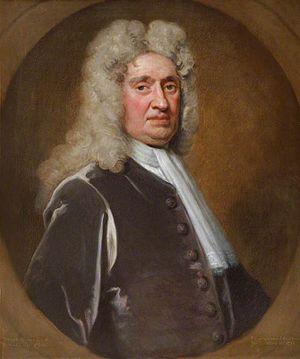 Denzil Onslow of Pyrford - Denzil Onslow of Pyrford in 1719