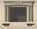 Design for a Chimneypiece with Ionic columns, a Frieze, and Cornice MET DP801003.jpg
