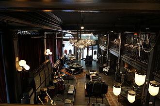 John Varvatos (company) - The interior of the John Varvatos store in Detroit