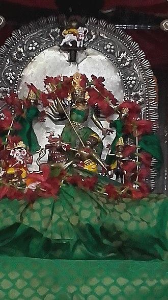 Kumortuli - Dhakeswari Mata idol