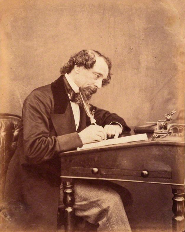 Dickens by Watkins 1858