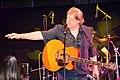 Die!!! Weihnachtsfeier 2013, 586 Der Musiker Gunter Gabriel kam nicht alleine auf die Bühne für die Erwachsenen ...jpg