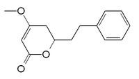 Chemical structure of dihydrokavain
