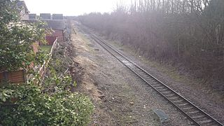 Dinnington and Laughton railway station Former railway station in South Yorkshire, England