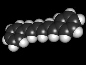 Diphenylhexatriene - Image: Diphenylhexatriene 3D