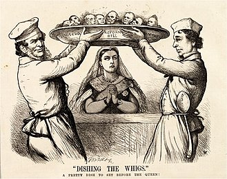 Reform Act 1867 - Image: Dishing the Whigs 1867