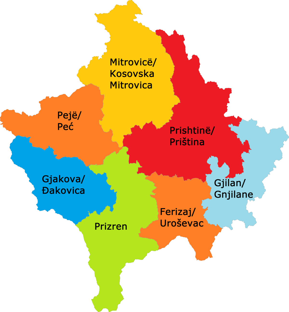gjilan map image collections