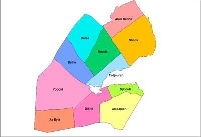 Districts of Djibouti