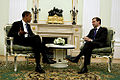 Dmitry Medvedev and Barack Obama 7 July-3.jpg
