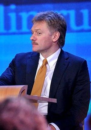 affiche Dmitry Peskov