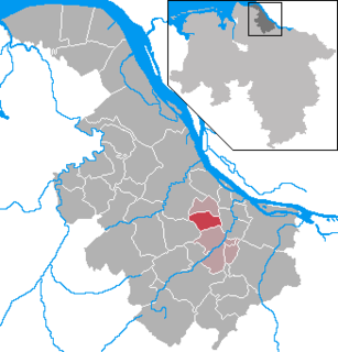 Dollern Place in Lower Saxony, Germany