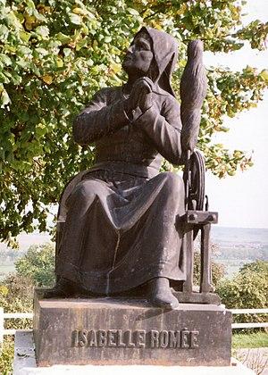 Isabelle Romée - Statue of Isabelle Romée at Domrémy