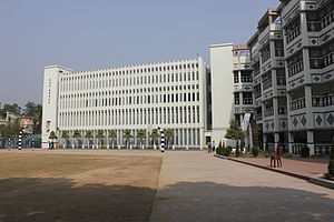 Don Bosco Bandel - The main school buildings (2013)