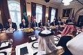 Donald Trump and Mohammad bin Salman in Cabinet Room (2).jpg