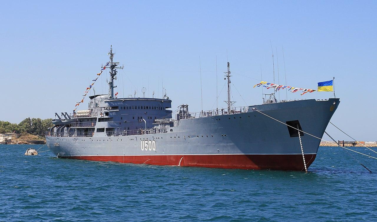 """Боевая готовность судна """"Донбасс"""", пострадавшего от пожара, будет восстановлена в ближайшее время, - командование ВМС - Цензор.НЕТ 3878"""