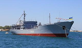 Ukrainian command ship Donbas