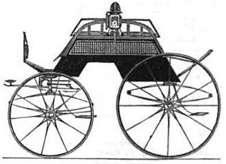 Dogcart - Image: Dos a Dos Style Carriage