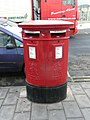 Double postbox, Queen Street, Newton Abbot - geograph.org.uk - 1076664.jpg