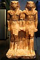 Double statue of Pharaoh Niuserre (5th dinasty) - Ägyptisches Museum - Munich - Germany 2017.jpg