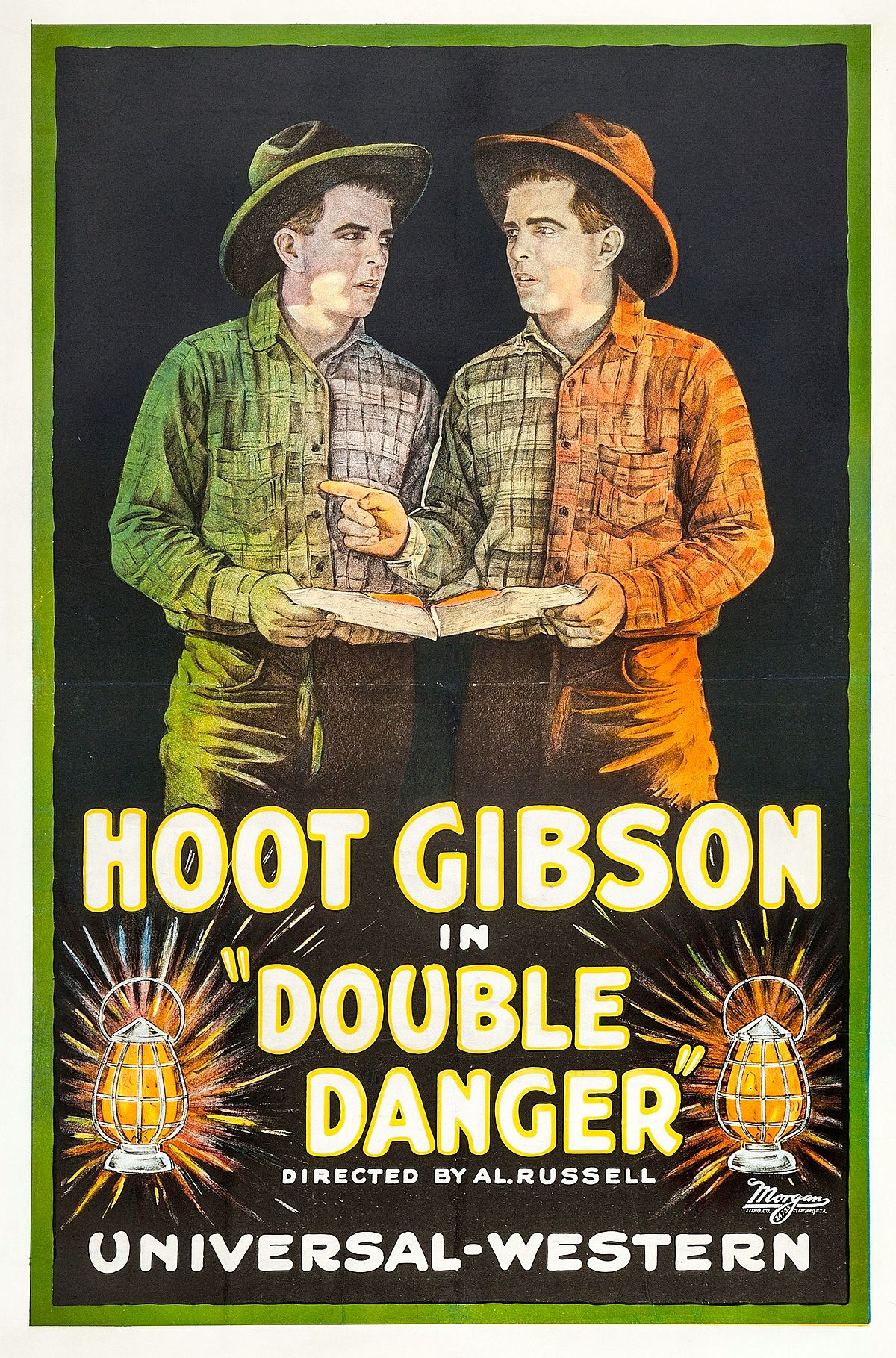 Hoot Gibson Double Feature The Fighting Parson The Cowboy Counselor Details