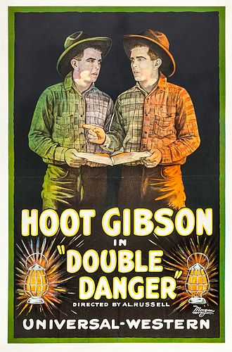 Double Danger (1920 film) - Poster for the film