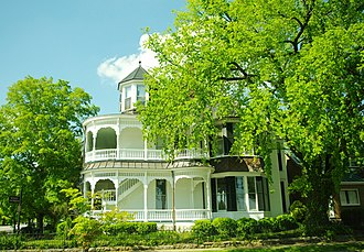 National Register of Historic Places listings in Lincoln County, Tennessee - Image: Douglas Wyatt House tn 1