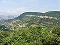 Dourbie vallée Millau belvédère D809.jpg