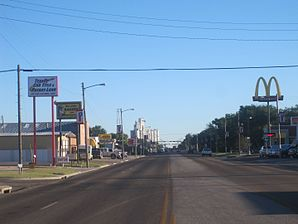 Downtown Perryton
