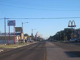 Perryton, Texas - Image: Downtown Perryton, TX IMG 6044