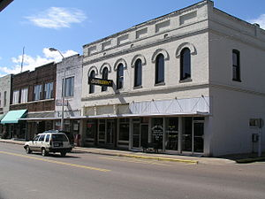 Eddy Arnold - Downtown Henderson, Tennessee, the city near which Arnold was born