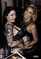 Draven Star and Kleio Valentien at AVN 2016 (25363550760).jpg