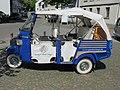 Dreirad Vespa - Piaggio APE Calessino - Limitierte Taxi Edition Blue - White - panoramio.jpg